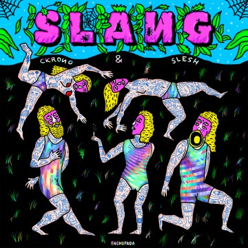 SLANG fiumani illustration surfing bass ckrono&slesh