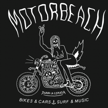 FILIPPO FIUMANI MOTORBEACH THUNDERSLOVE CUSTOM ART DESIGN ILLUSTRATION LEMANI