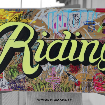 riding artwork fiumani lemani painting lettering